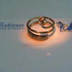 inel aur galben in forma de sarpe
