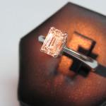 inel de logodna din aur alb