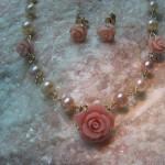 set de perle pastel si corali